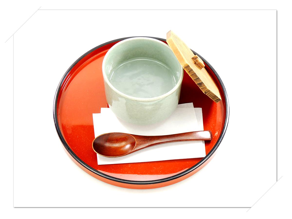 熊野那智大社・那智の滝・青岸渡寺の側 甘味処・お食事処・喫茶「茶房珍重庵 那智山店」メニュー写真 くず湯